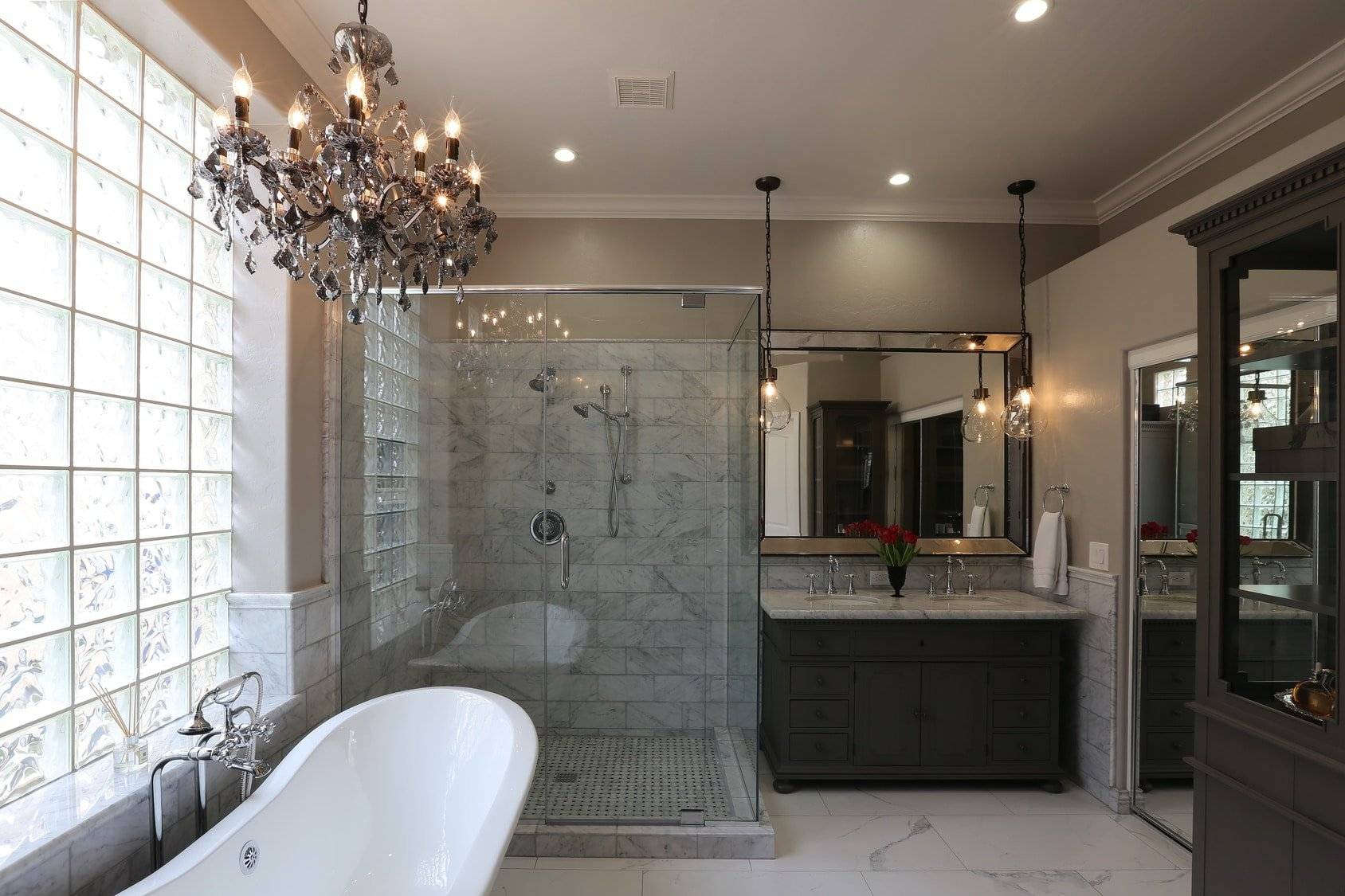 Luxury Master Bathroom Landscape